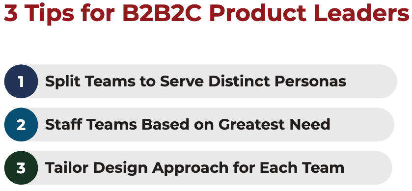 3 tips for B2B2C product leaders